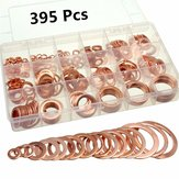 395Pc Copper Flat Ring Washer Gaskets Fitting 18 Metric Sz Electrical Automotive