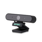 SV3C X1 HD 1080P Webcam with Build-in Microphone Computer USB Webcam Remote Study and Work Video Calling Recording Conferencing Camera For PC Laptop