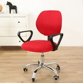 Elastic Swivel Computer Chair Seat Back Cover Office Armchair Decor Protector