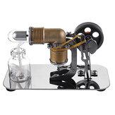 Mini kits de jouets éducatifs de modèle de moteur de moteur Stirling à air chaud