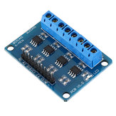 L9110S 4 Channel DC Stepper Motor Driver Board H Bridge L9110 Module Intelligent Vehicle Geekcreit for Arduino - products that work with official Arduino boards