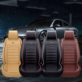 Luxo PU Leather Full Surround Car Capa Almofada Almofada Pet Pad Mat Protector SUV