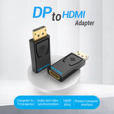 Adattatore VENTION DP a HDMI 1080P Display Convertitore da porta maschio a HDMI femmina per PC Laptop proiettore