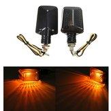 Pair 12V Motorcycle Mini Turn Signal Lights Indicators Lamps