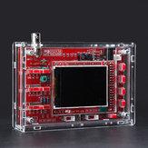 الأصلي JYETech DSO138 وحدة الذبذبات الرقمية المجمعة مع السكن الاكريليك الشفاف