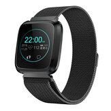 Bakeey L18 Milanese 24-Stunden-Herzfrequenz-IP68-Helligkeitssteuerung Sportmodus Mehrsprachige Smart Watch