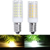 E14 7W 2835 No Stroboscopic 64LED Ceramic Corn Light Bulb for Indoor Home Decoration AC110-240V