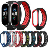 Bakeey Double Color Silicone Cinturino per orologio per Xiaomi mi band 5 Smart Watch Non originale