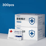 Youhekang 300 pz 60 * 60 mm Disinfezione Sterilizzazione Alcohol Prep Pad Telefono Laptop Tablet Pulizia Salviettine umidificate