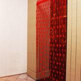 1mx2m Love Heart String Curtains Tassel Drape For Wall Vestibule Door Window Home Decor