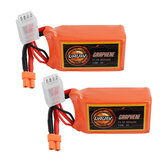 2Pcs URUAV GRAPHENE 3S 11.1V 850mAh 110C Lipo Battery XT30 Plug for FPV RC Racing Drone