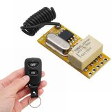DC 3.7V-12V Mini Wireless Controle Remoto Switch Relay Sistema Transmissor Micro Receptor Para LED Ligh