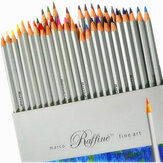 72 colores juego de lápices de dibujo artístico Oil lápices no tóxicos pintura bocetos dibujo papelería Escuela suministros para estudiantes
