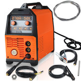 NBM-270 220V multifunzione MIG / MMA / Pulse / Double Pulse / Lift TIG Saldatrice in alluminio digitale Display