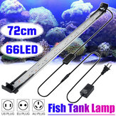 72CM 66LED Aquarium Fish Tank Light High-bright Double Drainage Water Grass