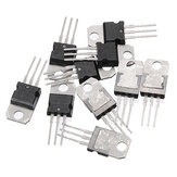 10 PCS LM317T TO-220 LM317 TO220 Asli IC Regulator Dapat Disesuaikan