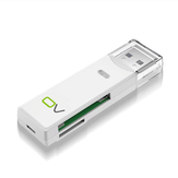 OV MU22 USB3.0カードリーダー2 in 1多機能TF SDメモリカードアダプター250G 5Gbps(コンピューターラップトップ用)