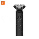 Xiaomi Mijia S1 Electric Razor IPX7 Waterproof Wet Dry Shaving Machine 3 Blades Trimmer Shaver USB Rechargable For Men's Gift Portable in Travel