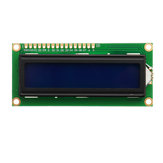 5Pcs 1602 Character LCD Display Module Blue Backlight Geekcreit for Arduino - products that work with official Arduino boards