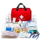 300 stks IN 1 Outdoor SOS Emergency Survival Tools Kit Voor Home Office Camping EHBO-kit