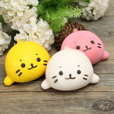 6cm Squishy Simulation Otter Lutra Lutra Slow Rising Squishy Fun Toys Decoration