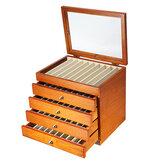 Penna stilografica in legno da 17 pezzi con astuccio per penna Display da 50 pezzi con contenitore di colore antico 5 strati