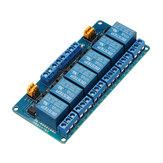 Gatilho de nível alto e baixo do módulo de relé de 6 canais 5V BESTEP para Arduino - produtos que funcionam com placas Arduino oficiais