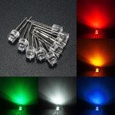 10pcs 5mm 5 l'eau de couleur claire plane LED diodes assortiment lumière diy