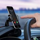 Support universel de tableau de bord de bâti de voiture de rotation de 360 degrés antidérapant pour le téléphone portable de Xiaomi