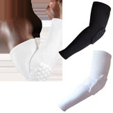 KALOAD Nylon Breathable Elbow Sleeve Guards Anti Collision Elbow Support Fitness Exercise Protectors Pads