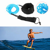 IPRee® 10ft 7mm Coiled Surfboard Leash Surfing Stand Up Paddle Board String Leg Lope