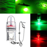 Deep Drop LED TORCIA Luce subacquea rossa / verde 2100ft Flash TORCIA lampada DC3V
