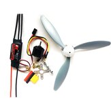 Hobbywing Skywalker 30A ESC + 1400KV 2212 Motore + 3 pale 8060 Propeller Power Combo RC Airplane Set fai da te