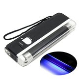 4W Mini Portable UV Lamp Ultraviolet Black Money Detector Bank Notes Check Torch Flash Light