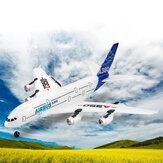 A380 2.4G 3CH350mm翼幅EPPRC飛行機RTF内蔵6軸ジャイロスコープ飛行自己安定化システムLED付き