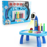 Intelligent Children's Projector Early Education Toys Learning Drawing Board Game Enlightenment Painting Set
