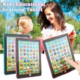 Pink/Blue Baby Laptop Tablet Computer Educational Learning Tool for Children Toys