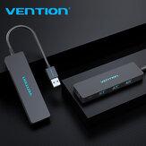 VENTION 4-Port USB 3.0 HUB محول USB Flash محركات أقراص مع 4 * USB 3.0 لأجهزة Macbook Mac Pro XPS Notebook الكمبيوتر