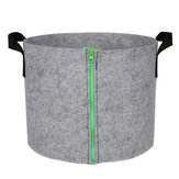 S/L Zipper Planting Grow Box Bag Breathable Vegetable Flower Growing Bucket Pot Container