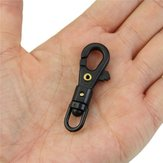 Mini Rotatable Buckle Hang Quickdraw Outdoor Survival Carabiner Key Chain Tool