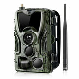 HC-801LTE 4G 16MP 1080P HD Impermeabile SMS / MMS / SMTP Caccia alla fauna selvatica Trail Track fotografica Night Version