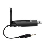 USB bluetooth 5.0 Transmitter bluetooth Adapter Low Latency for TV Wireless USB 3.5mm AUX/2 RCA Audio Adapter for PS4 PC