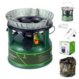 BRS-7 9800W Gasoline Stove Outdoor Cooking Stoves Powerful Fire Cookware Oil-Burning Boiler For Hiking Camping Equipment Outdoor Burners