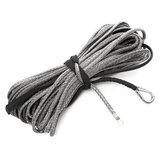 3 / 16x65 дюймов 5500LBS Синтетическая лебедка Веревка Кабельная линия с оболочкой для ATV UTV