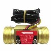 G3 / 4 Akış Sensör Su Akış Sensör Akış Ölçer Su Anahtarı Sensör Bakır Kabuk Salonu Türbin Debimetre