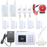 K05 PSTN 99 Zones Wireless PIR Home Security Burglar Alarm System Auto Dialer
