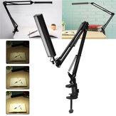 5W lange Arm Clip Touch Dimmbare LED Tisch Schreibtischlampe USB Leselicht Dekoration