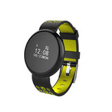 I8 0.66' Touch Screen IP68 Blood Oxygen Heart Rate Monitor Call Reject Message Reminder Smart Watch