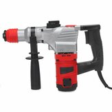 1100W Electric Rotary Hammer Concrete Breaker Punch Chisel Drill Accessories Kit