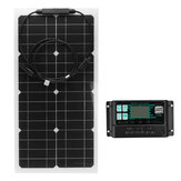 100W Solar Panel Monocrystalline Battery Charging Camping Travel Car Yacht Solar Panel Charger With 30A/60ASolar Charger Controller